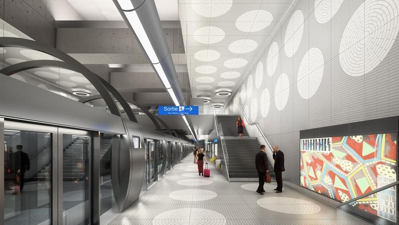 La future station Pont Cardinet de la ligne 14