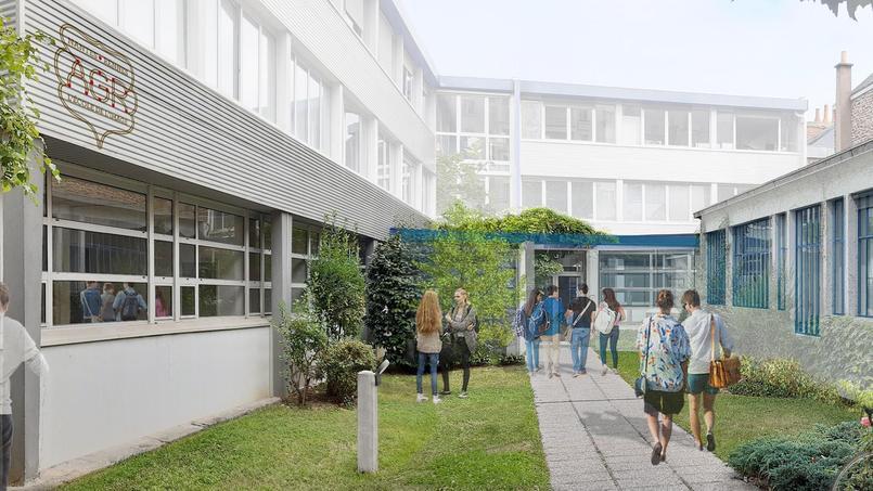 Ces locaux accueilleront quatre ateliers dont une verrière de la fin du 19ème.
