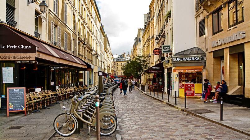 Vue du Quartier Latin où Gabriel Matzneff loue son HLM.