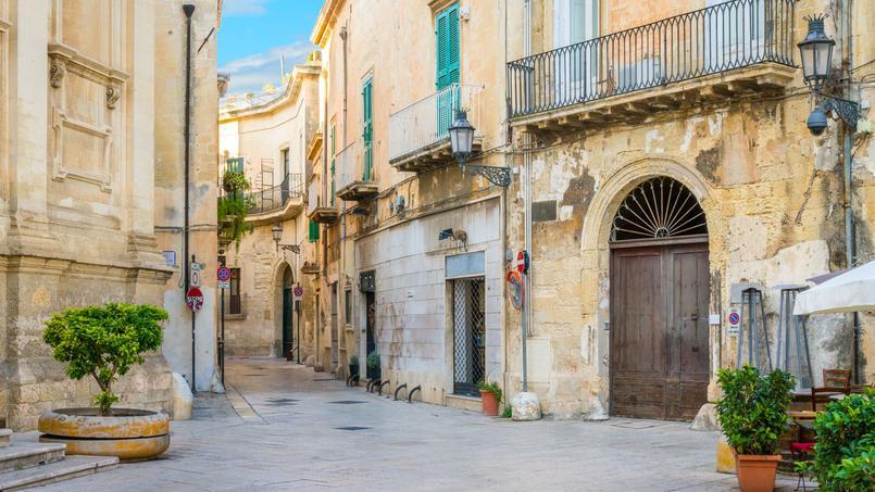 C'est dans la région de Lecce  <i>(notre photo)</i>, dans les Pouilles, que se déroule le roman de Jacques de Saint-Victor.