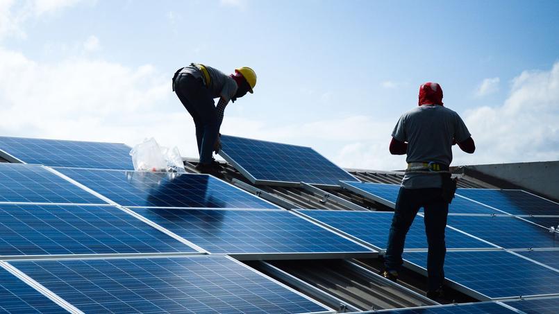 La médiathèque de Roubaix avait été équipée de 187 panneaux solaires pour un montant investi de 103.000 euros <i>(photo d'illustration)</i>.