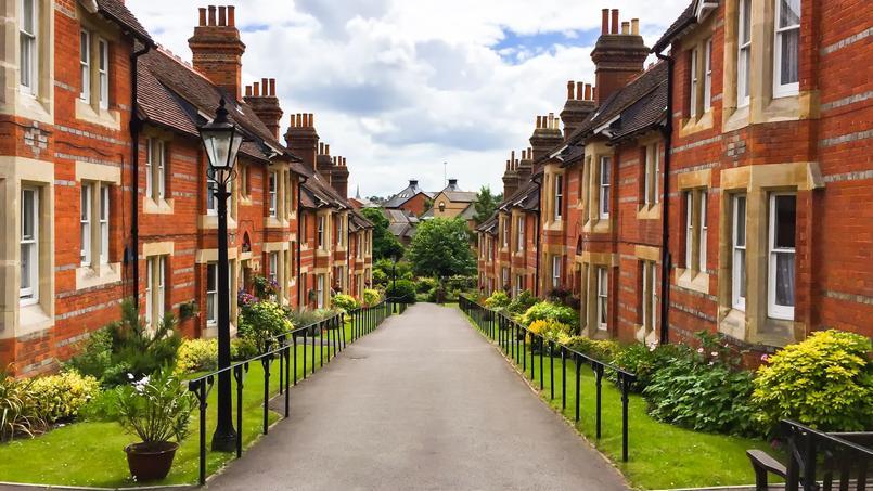 Les prix de l'immobilier repartent doucement au Royaume-Uni