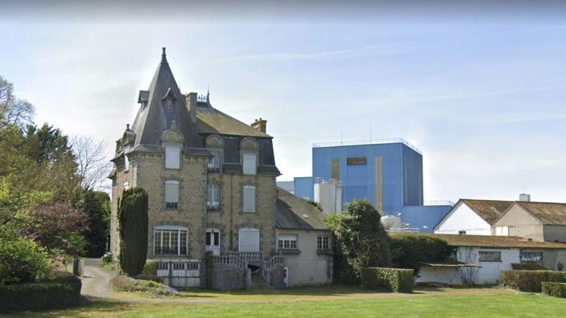 Le permis de démolition vise toute la partie la plus ancienne de la fromagerie, y compris le château.