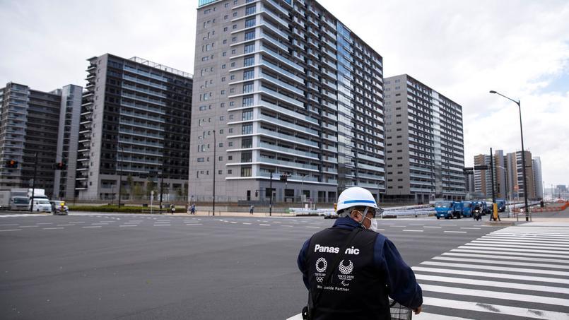 Le village olympique de Tokyo compte 21 tours de 14 à 18 étages.