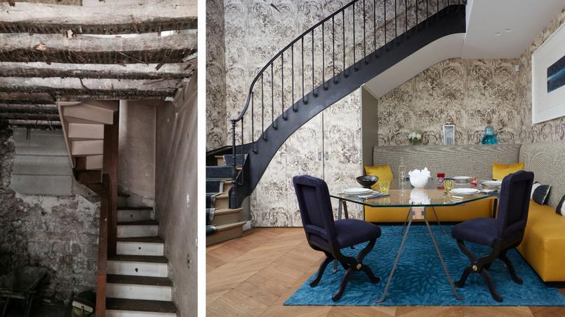 Avant/après: renaissance d'une «maison de campagne» en plein Paris