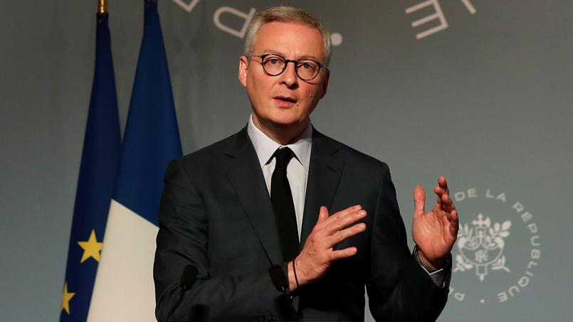 Le ministre de l'Economie, Bruno Le Maire, a rappelé cette position, trois jours après Gérald Darmanin, ministre des Comptes publics.