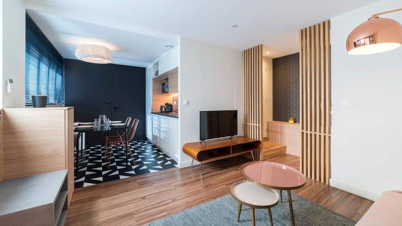 Un appartement à Lyon destiné à la location.