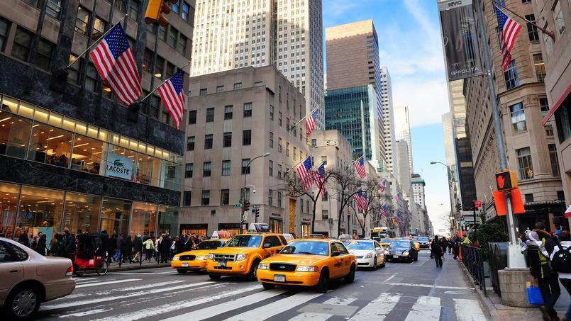 La 5e Avenue à New York reste l'une des artères commerçantes les plus chères au monde.