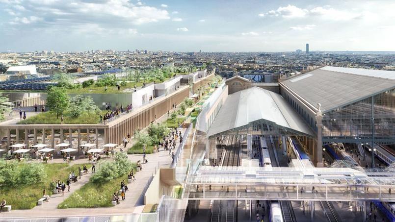 Gare du Nord: la Mairie de Paris voit rouge après le feu vert pour les travaux