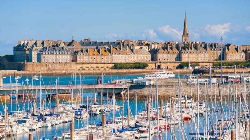 Vue générale de Saint-Malo.