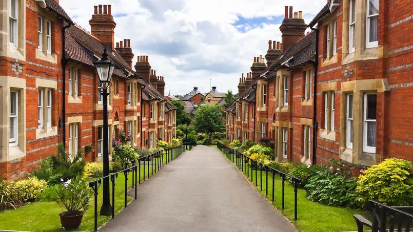 Les prix de l'immobilier flambent en province mais pas à Londres