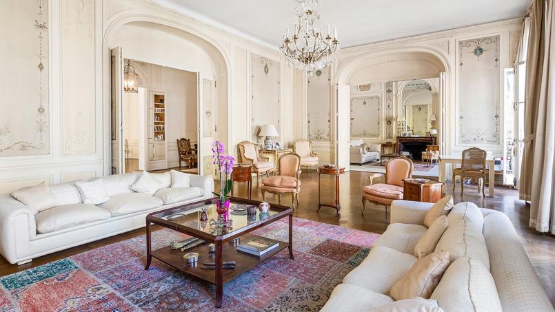 Rue François Ier, cet appartement de 390 m² a été vendu 9 millions d'euros