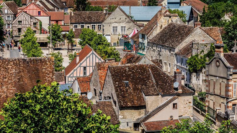 Dans le secteur des Provins (ici, la ville médiévale) concentre la plus forte proportion de maisons (88%) et les plus petits prix (178000 euros).