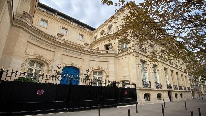 L'hôtel particulier du roi du Maroc Mohammed VI, rue Emile Deschanel (7e arrondissement)