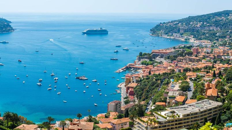 Les ventes en viager sont très fréquentes sur la Côte d'Azur (ici vue aérienne sur Nice)