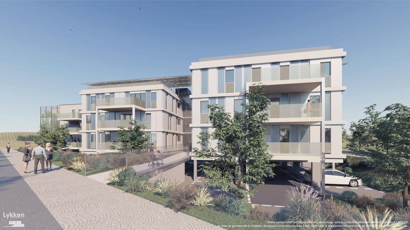 Le permis de construire pour ces deux immeubles comptant sept logements chacun sera bientôt déposé.
