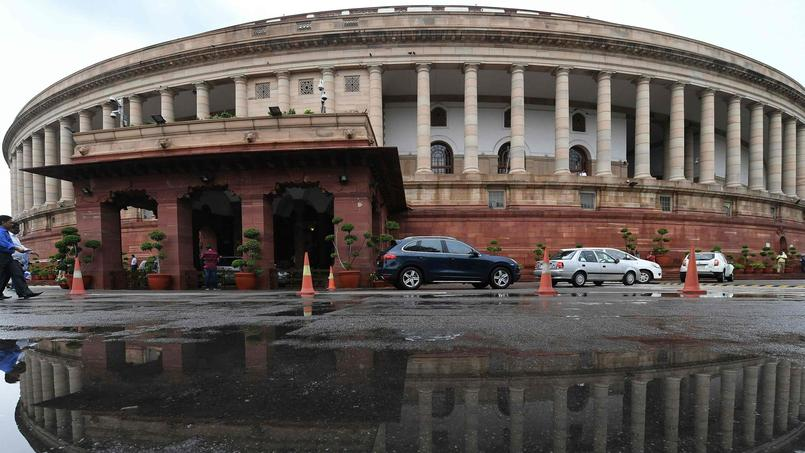 FILES-INDIA-POLITICS-ARCHITECTURE-PARLIAMENT