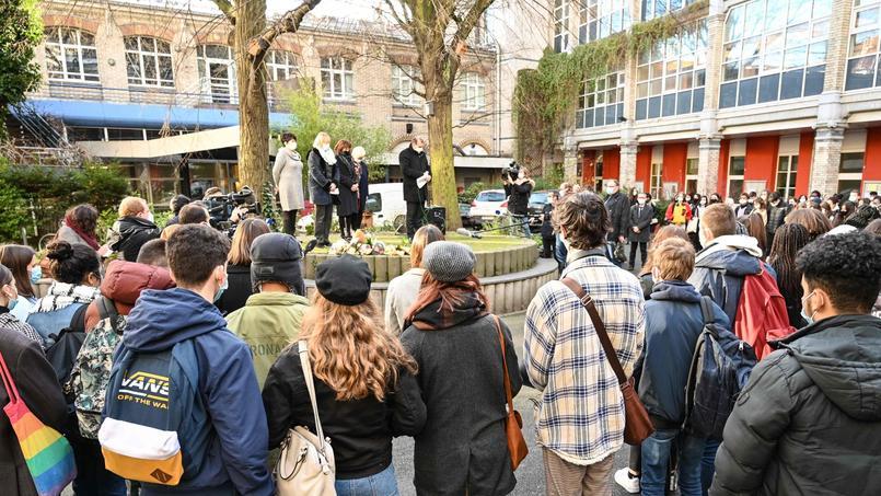 Les élèves du lycée Fénelon de Lille ont rendu hommage à Fouad.