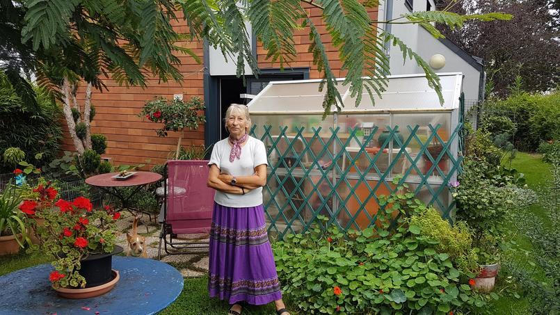 Nadine Chauvigné est devenue propriétaire à 75 ans