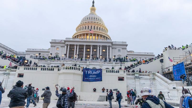 Des pro-Trump prennent d'assaut le Capitole, le 6 janvier dernier