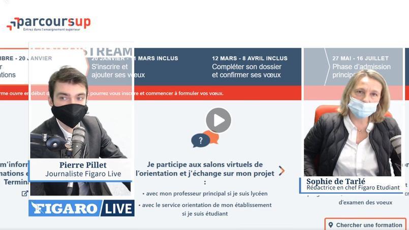 Sophie de Tarlé était l'invitée de Figaro Live pour répondre à toutes vos questions sur Parcoursup.