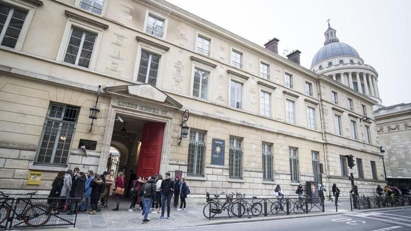 Le lycée Henri IV à Paris.
