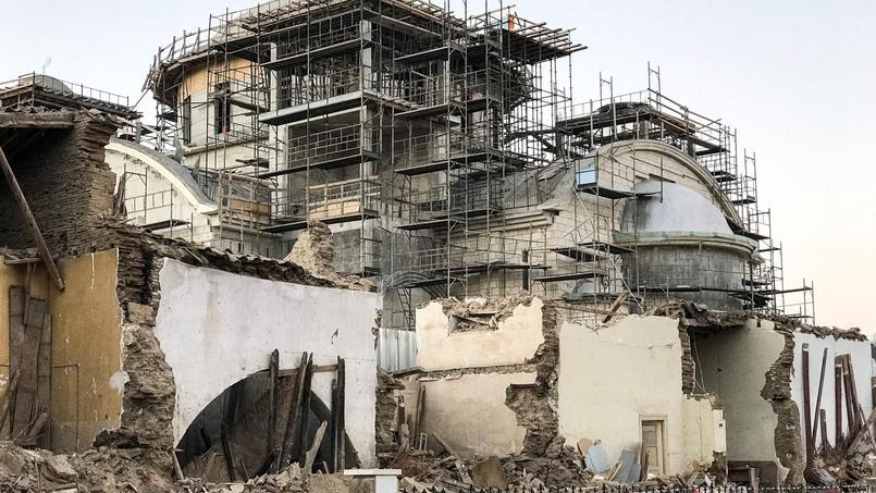 Le chantier de la nouvelle cathédrale de Nicosie s'accompagne de quelques dégâts.
