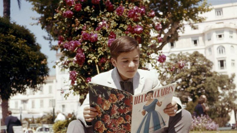 Jean-Pierre Léaud au festival de Cannes à la sortie du film Les 400 coups.