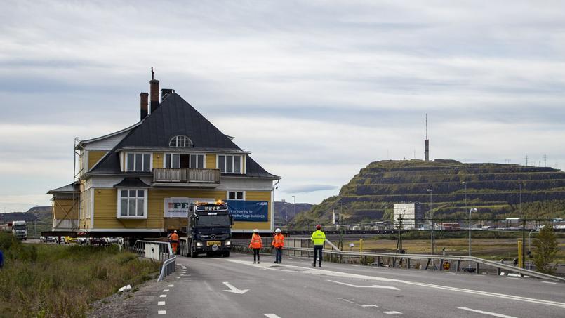 Kiruna, la ville qui déplace ses bâtiments un à un