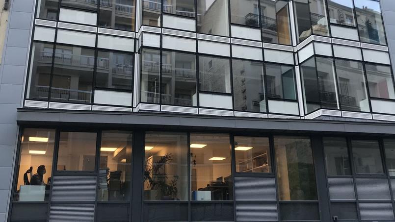 Dans cet immeuble, le chauffage récupère la chaleur de la façade