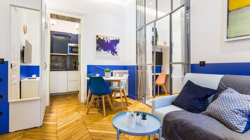 Ce 2-pièces de 33 m², situé rue Pierre 1er de Serbie (8e) est affiché à 561.000 euros.