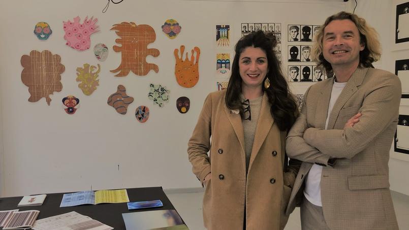 Vincent Villard et Julie Le Guern dirigent cette nouvelle école d'art de l'Est parisien.