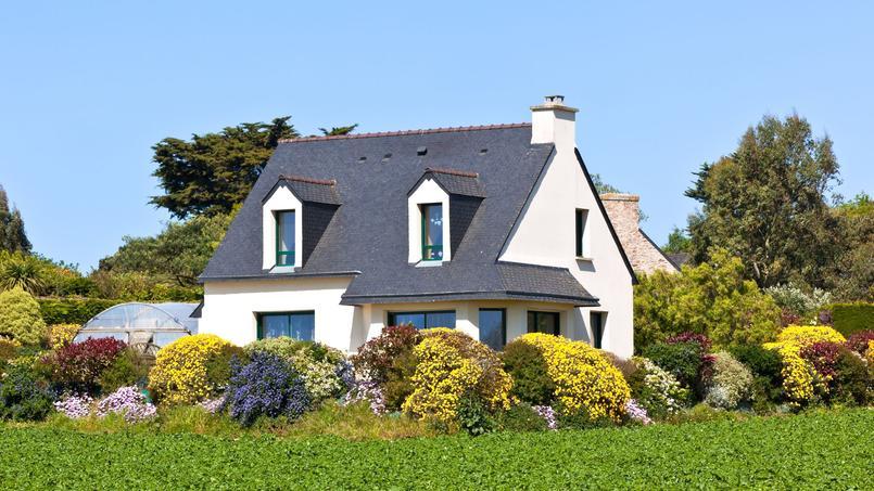 Les maisons en Province (ici en Bretagne) ont de plus en plus la cote auprès des Français
