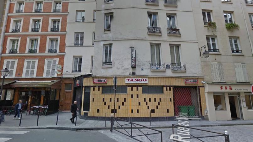 La discothèque Tango, dans le quartier du Marais, à Paris