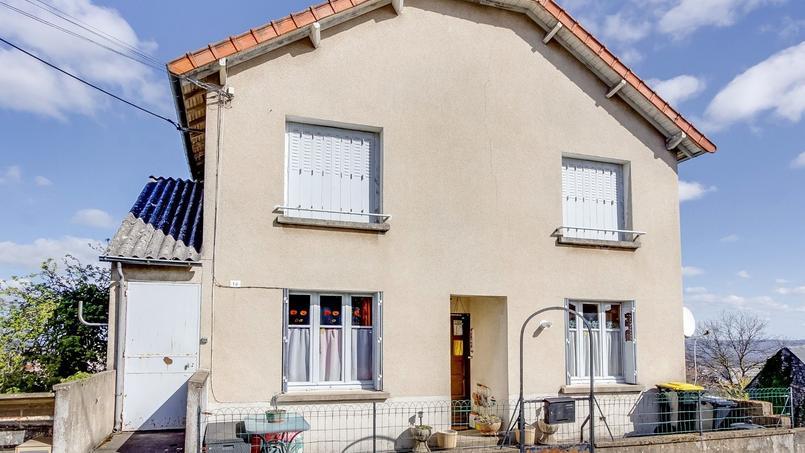 Cette maison de 172 m² est à vendre aux enchères pour un peu plus de 92.000 euros