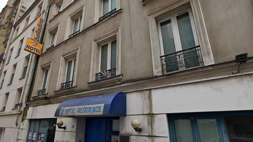 L'hôtel Balladins, rue Maurice-Ripoche (14e arrondissement de Paris)