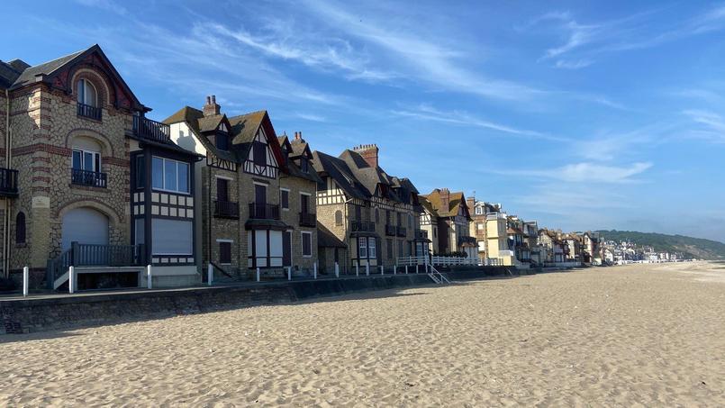 À Villers-sur-mer, petite commune du Calvados (14), les prix de l'immobilier peuvent aussi flamber!