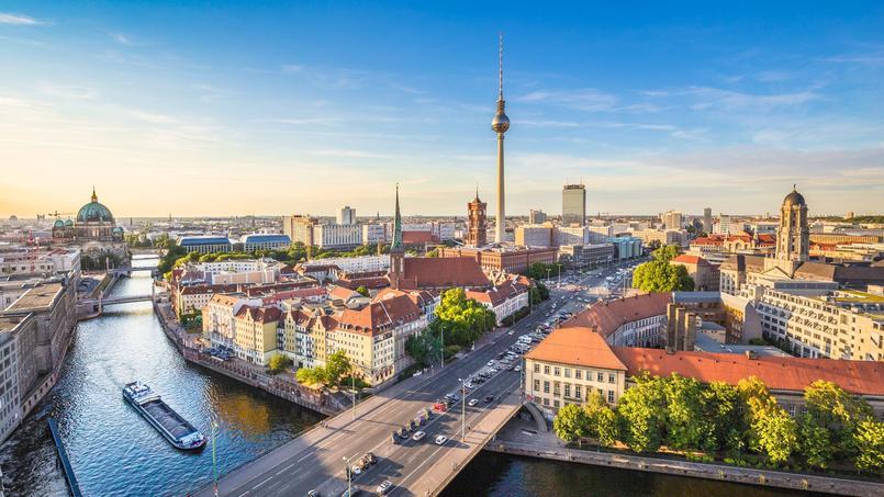 En Allemagne (ici, une vue de Berlin), les prix se sont envolés de 38% entre 2015 et 2020.
