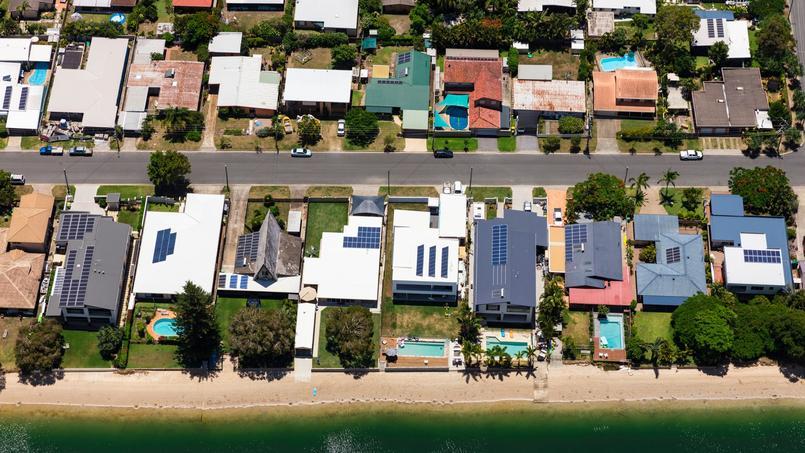 Photo d'illustration d'une banlieue australienne.