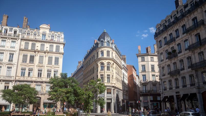 À Lyon, les prix de l'immobilier ont grimpé d'environ 6% sur un an, entre les deuxièmes trimestres 2020 et 2021
