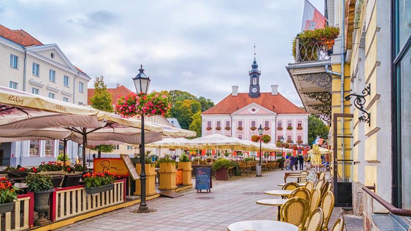 Tartu est une ville superbe, qui vibre, parfaite pour les étudiants.