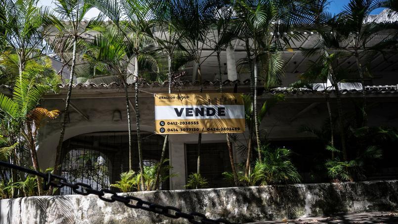 Avec l'inflation vertigineuse, s'acheter une maison au Venezuela n'est possible que si on paie cash.