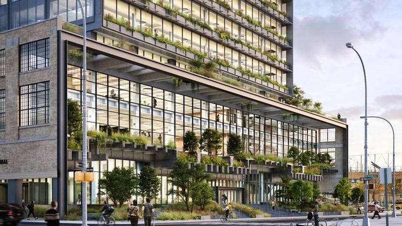 Voici à quoi pourrait ressembler le futur immeuble visé par Google