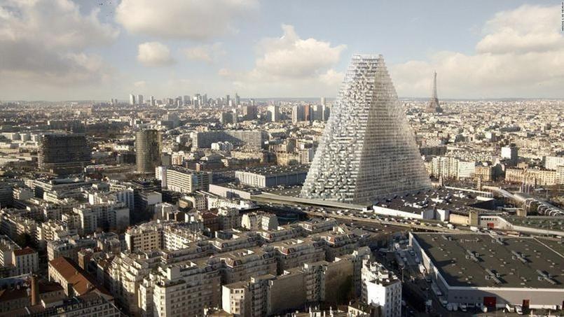 Voilà à quoi devrait ressembler la Tour Triangle qui doit être implanté porte de Versailles (15e à Paris)