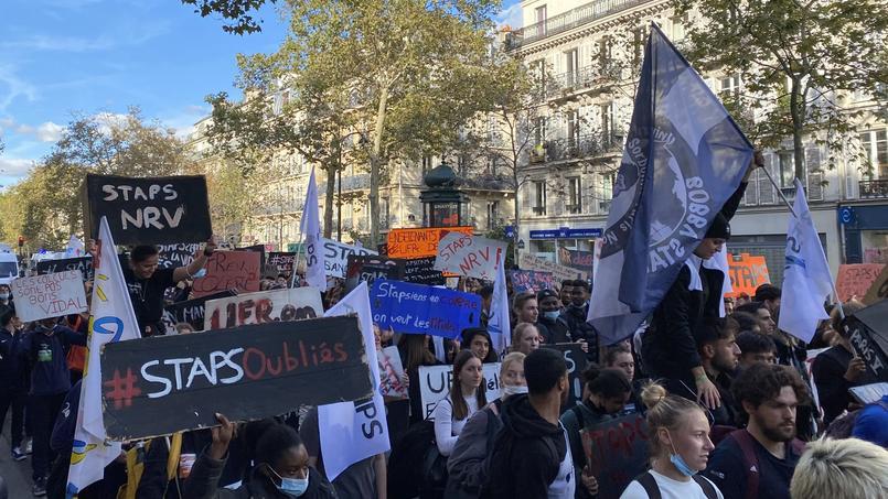 «On n'en peut plus»: Les étudiants en Staps crient leur ras-le-bol