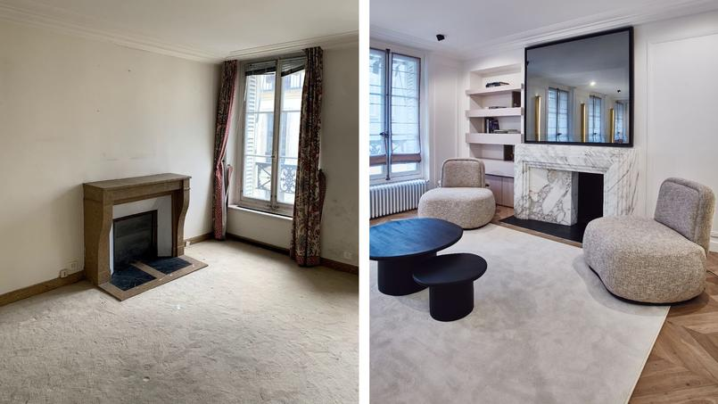 La spectaculaire métamorphose de cet appartement parisien, en 6 mois