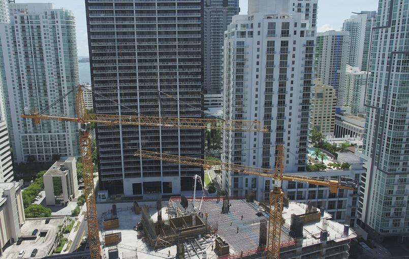 Irma Construction Cranes