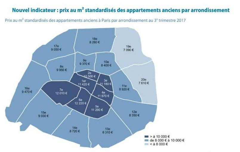 immobilier paris en route vers un prix moyen de 9200 euros le m tre carr. Black Bedroom Furniture Sets. Home Design Ideas