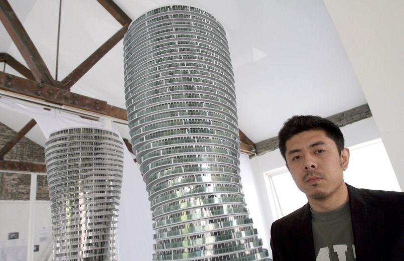 CHINA-ARCHITECTURE-CONSTRUCTION