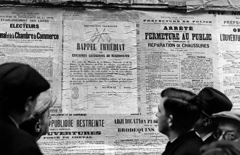 Mobilisation en France, 1939